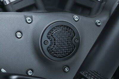 Kuryakyn Satin Black Mesh Timing Cover 6523