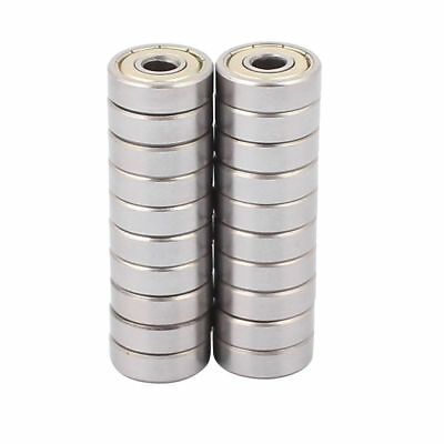 Metal Shielded Sealed Low Speed Deep Groove Ball Bearing 5mmx16mmx5mm 20pcs