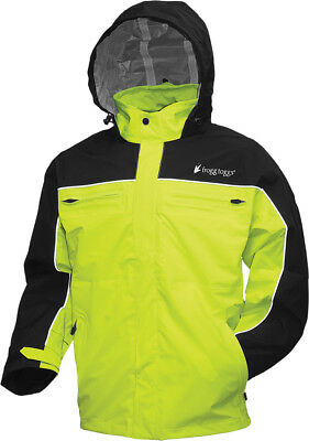 Frogg Toggs 2016 Adult Pilot Cruiser Waterproof Rain Jacket Hi-Viz S-2XL