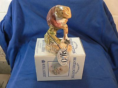 BESWICK BEATRIX POTTER R/A MR JEREMY FISHER DIGGING BP6a