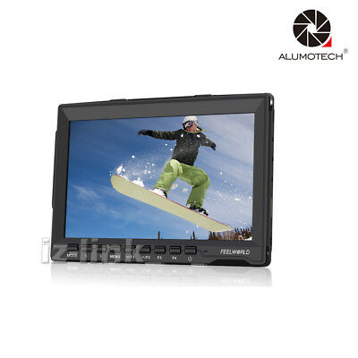 "FW759 7"" IPS HD 1280x800 Field Video Monitor For DSLR Camcorder Video Camera"