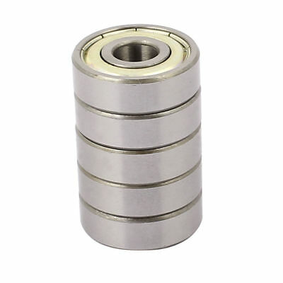 H● Metal Shielded Sealed Low Speed Deep Groove Ball Bearing 9mmx26mmx8mm 5pcs