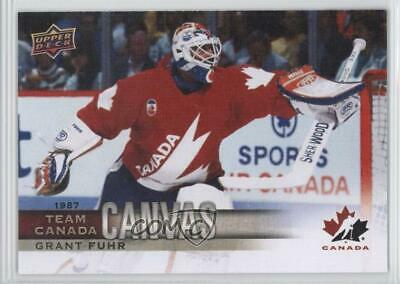 2017 Upper Deck Canadian Tire Team Canada Canvas #TCC-48 Grant Fuhr Hockey Card
