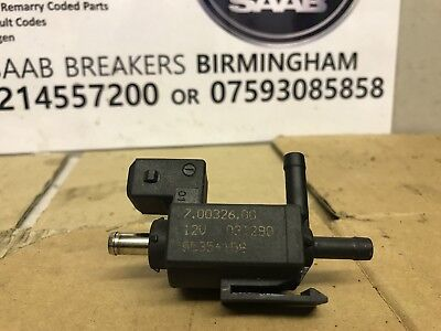 SAAB 9-3 93 Air Bypass Control 55354158 B207 MODEL PETROL CHARGE VALVE 03 TO 10