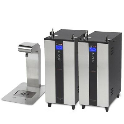2 x Marco Ecoboilers, fitlers and Uber Font under-counter water boiler for cafe