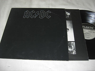 (8000)  AC/DC –Back in Black - OIS - 1980