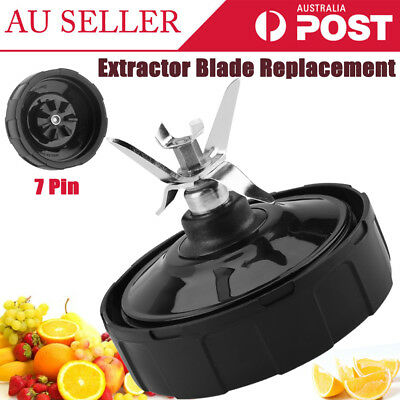 7Fin Extractor Blade Replacement For 1000W Nutri Ninja Auto iQ BL682 BL641 BL642