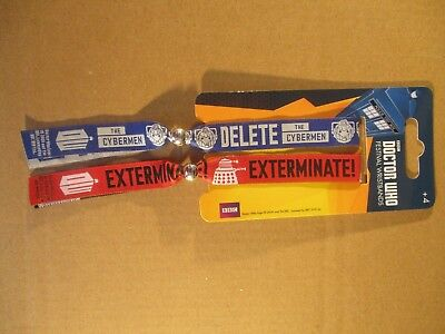 DOCTOR WHO FESTIVAL WRISTBANDS - Pyramid Official Merchandise