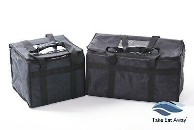 Delivery Bags-2 pack Take Away Insulated Hot or Cold Food Deliveries Bag T8/T16
