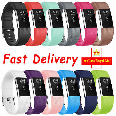 For Fitbit Charge 2 Wrist Straps Wristbands ,Replacement Accessory Watch Bands