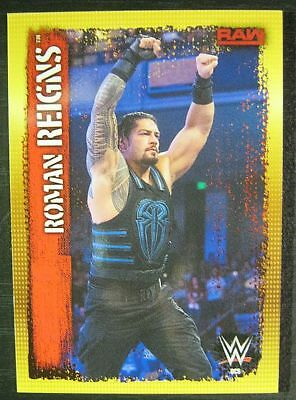 WWE WWF Slam Attax 10th Edition Topps Limited Edition Karte DC5 Roman Reigns