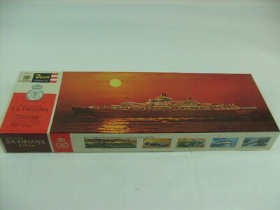 Revell Authentic Kit H:376:298 P&O Orient Line S.S. ORIANA Luxury Liner OVP