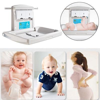 Infant Baby Change Table Bbr-004 Horizontal Plastic Surface Mounted NEW AU