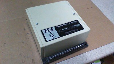 Asco Panel For Auto Transfer Switch Control / Serial# 43612-S / 480/277Vac
