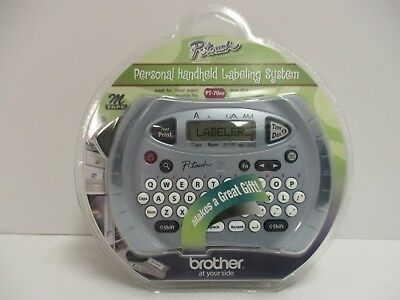 Brother P-Touch Personal Handheld Labeling System Pt-70 Bm - New - Rc 6754
