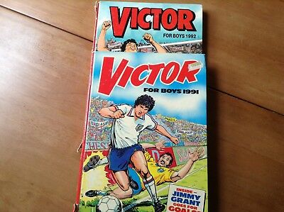 Victor Comic Book for boys  1991 and 1992