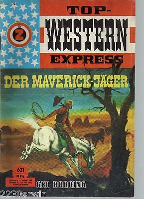TOP WESTERN EXPRESS 621 / Geo Barring (1962-1975 Indra-Verlag)