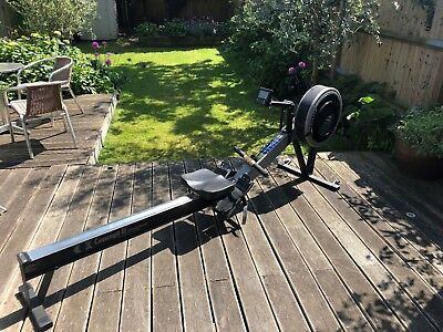 Concept 2 Model C Indoor rowing machine with PM2 monitor. Home use only.