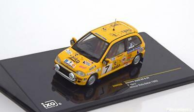 1:43 Ixo Subaru Vivio RX-R Winner Rally Safari Mathews/Nijru 1993