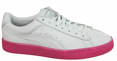 PUMA BASKET CLASSIC Mono Ice Ref Womens Trainers Lace Up