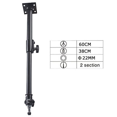 2 x Ceiling Mount Studio Wall or Ceiling Mount Extendable Boom Arm