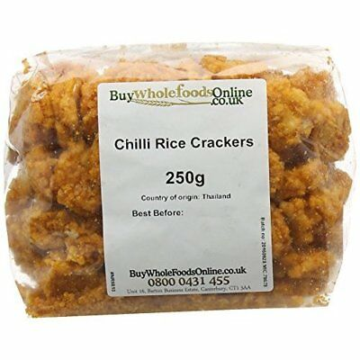 Buy Whole Foods Online Ltd. Chilli Rice Crackers 250 g