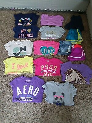 HUGE girls size 7/8 15pc summer clothes lot