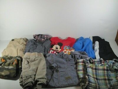 Lot of toddler boys clothes 18-24 months 9 items