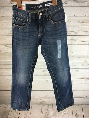 GAP Kids 1969 Straight Leg Denim Jeans sz8 Regular