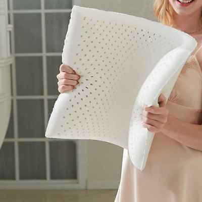 NATURAL TALALAY LATEX PILLOW SLEEPING SUPPORT - FINE WHITE STRETCH Pillow