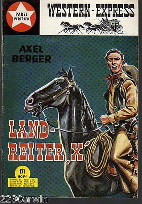 WESTERN EXPRESS 171 / Axel Berger (1964-1974 Indra-Verlag)