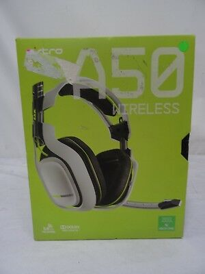 Astro A50 2nd Gen Xbox One White Headset -Blown Speakers-
