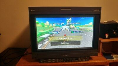 Sony BVM-A24E1WU Pro Video Monitor with BKM-61D, 62HS, and BKM-15R
