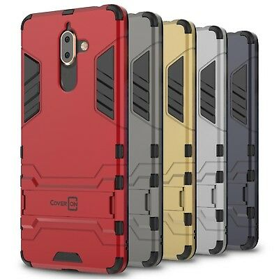 CoverON for Nokia 7 Plus Case Hybrid Stand Armor Kickstand Hard Slim Phone Cover