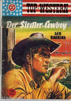 TOP WESTERN EXPRESS 223 / Geo Barring / (1962-1975 Indra-Verlag)