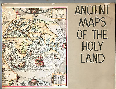 Judaica Jewish Ancient Maps Of The Holy Land Catalog