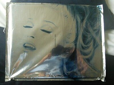 Madonna Sex Book 1992 Uk Ediition,unopened,sealed,mint,awesome