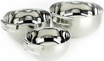 All-Clad MBSET Stainless Steel Dishwasher Safe Mixing Bowls Set Kitchen A... New