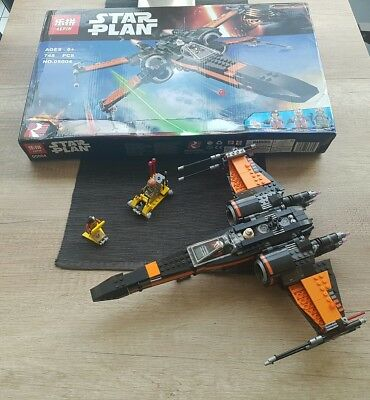 lepin star wars Star Plan Poes x Wing fighter neu