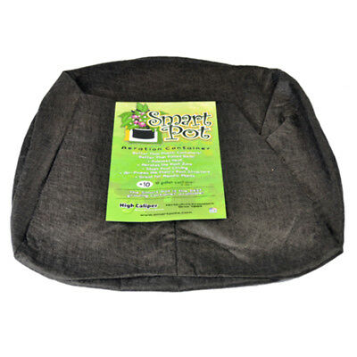 37L 10 Gallon Smart Pot Fabric Cloth Root Pruning Plant Container Pouch Bag