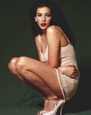 """Selling : 10"""" x 8"""" Signed Photo of Film Star Liv Tyler"""