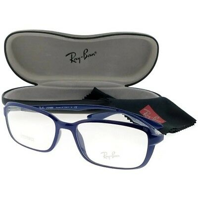 ... coupon for ray ban rx7037 5431 liteforce unisex blue frame clear len  genuine eyeglasses nwt ff74a 6a470027c8