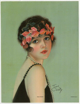Vintage 1920s Rare Earl Christy Pin-Up Print Art Deco Flapper Patsy