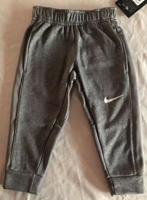 Nike Sweatpants Size 2t Therma New With Tags Msrp $38 Gray
