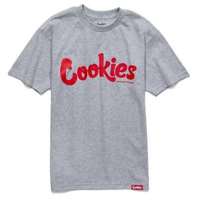 fd72cc41d Cookies SF Berner Men's Thin Mint T Shirt Htr Gray Red Tee Clothing Apparel