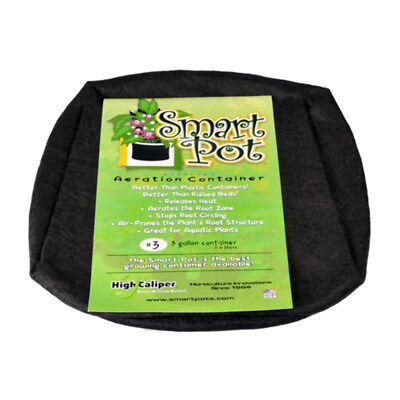 11.4L 3 Gallon Smart Pot Fabric Cloth Root Pruning Plant Container Pouch Bag