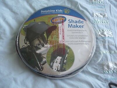 Sunshine Kids 'Shade Maker' universal sun buggy canopy  with SPF50+ protection.