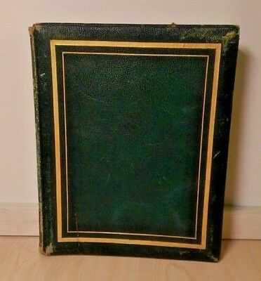 Very Rare 19th Century Antique Book Of 22 Early 19th Century Theatrical Etchings