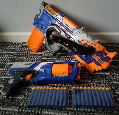 nerf gun elite bundle crossbolt crossbow + strongarm pistol + bullets 14.99p