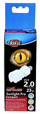 Trixie 76033 Sunlight Pro Compact 2.0, UV-Kompaktlampe ø 60 × 152 mm, 23 W